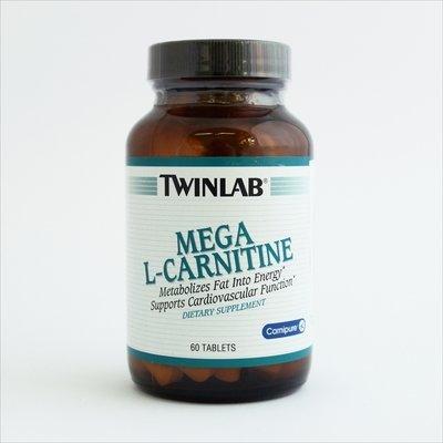 Twinlab Mega L-carnitine 500 mg 60 tbl