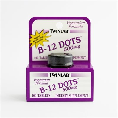 Twinlab Vitamin B-12 500 mcg -100 tableta