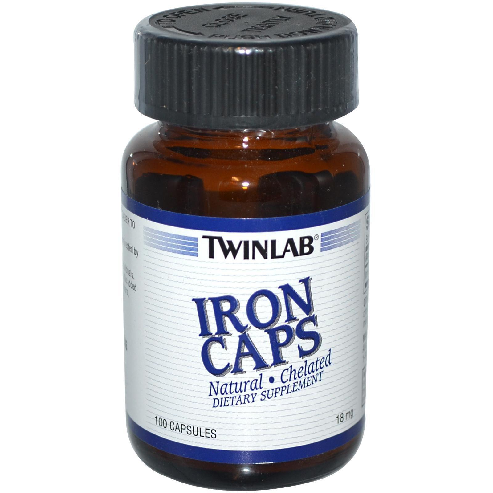 Twinlab Iron Caps (helirano gvožđe) 100 kps 00379