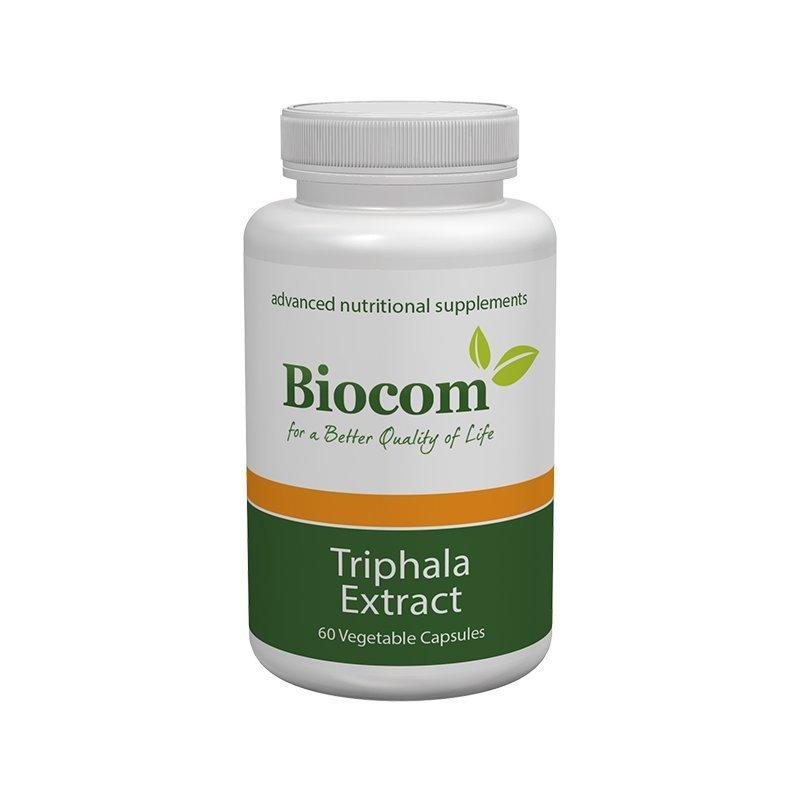 Biocom Triphala extract 60 cps 00384