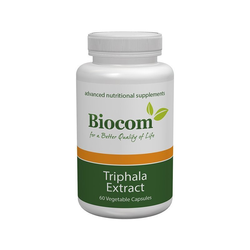 Biocom Triphala extract 60 cps