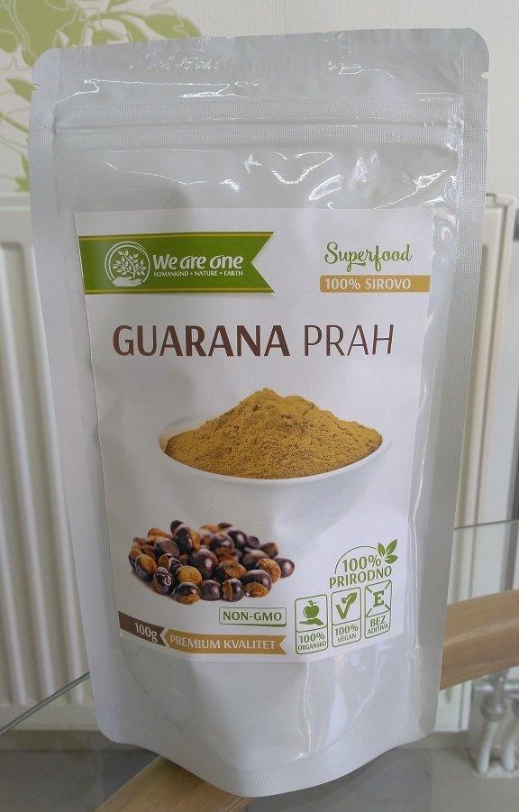 Guarana prah  (za energiju i budnost) 100 g 00390