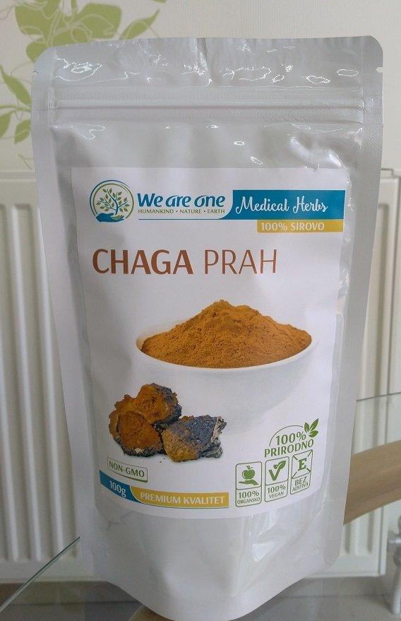 Chaga (čaga) prah  - za imunitet 100 g 00391