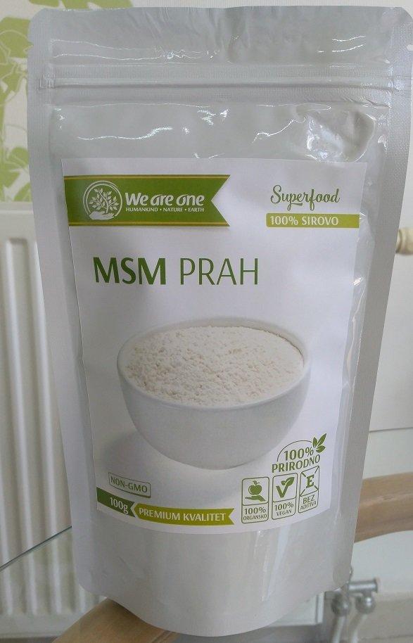 MSM prah  - za zdrave zglobove 100 g 00393