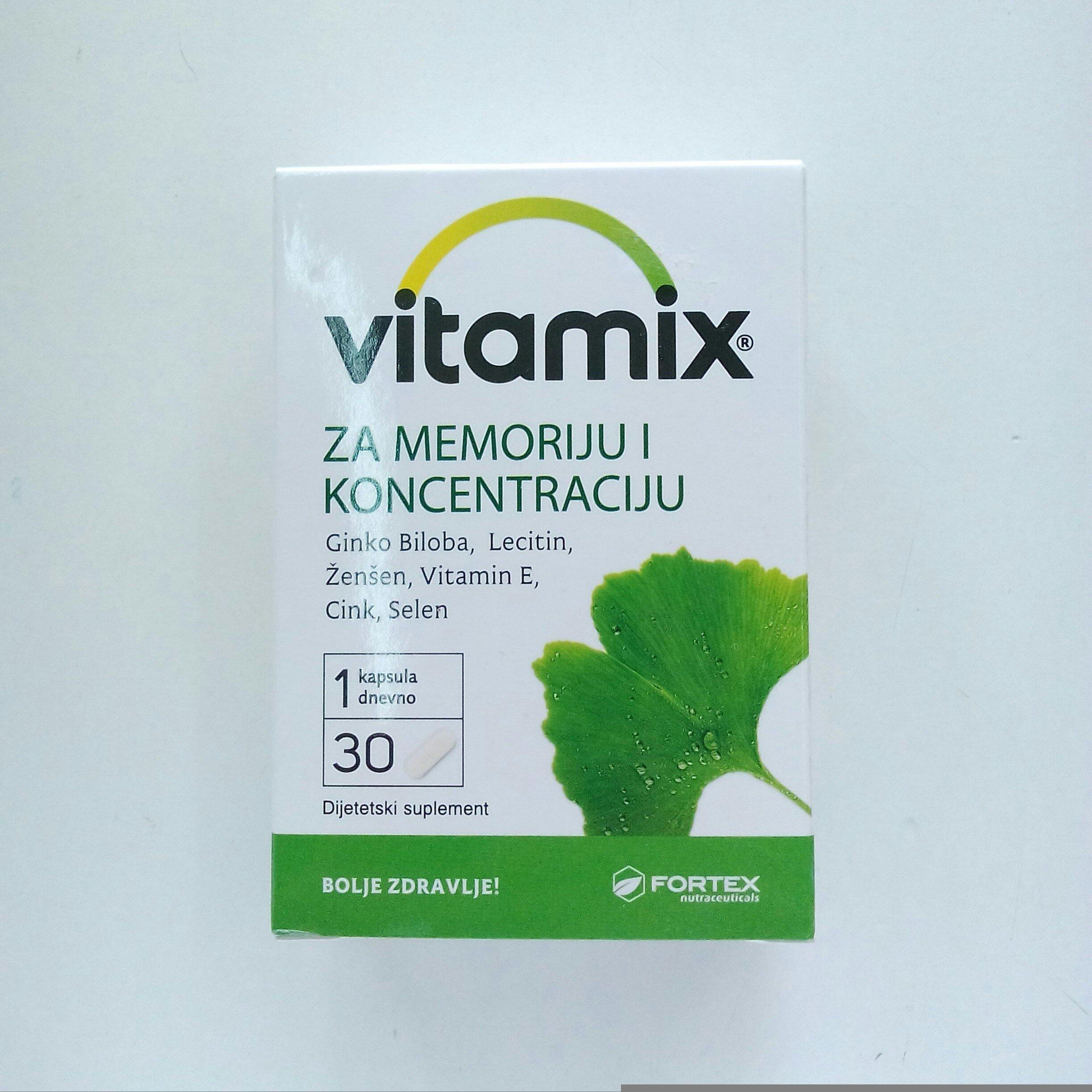 Vitamix za memoriju i koncentraciju 30 kps 00395