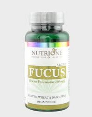 Nutrione Fucus kelp alge (150 mcg joda) 60 kapsula