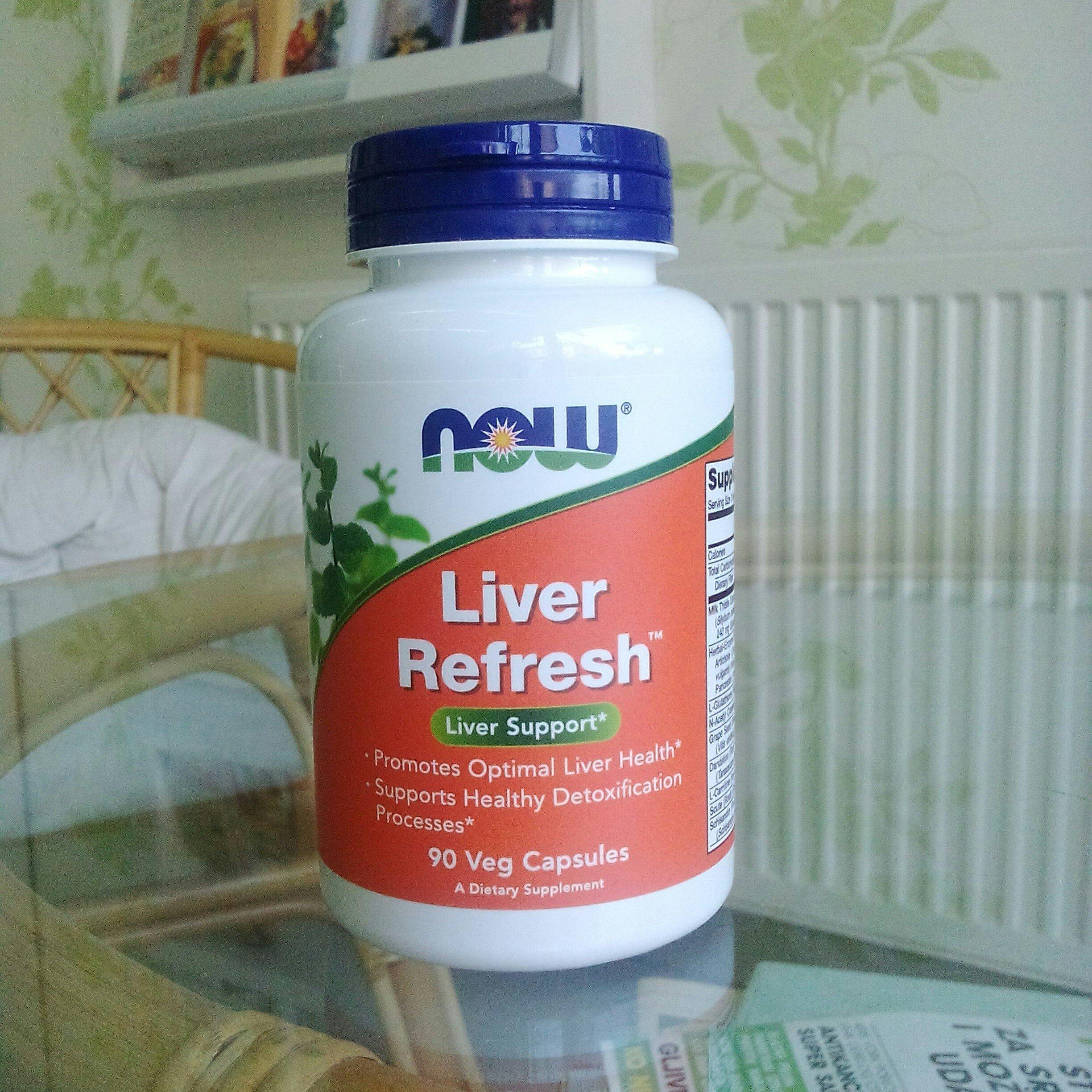 NOW Foods - Liver refresh 90 kps 00179