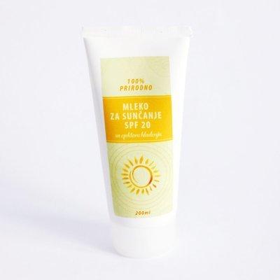 Herbateria - Mleko za sunčanje SPF 20 sa efektom hlađenja 100 ml / 200 ml