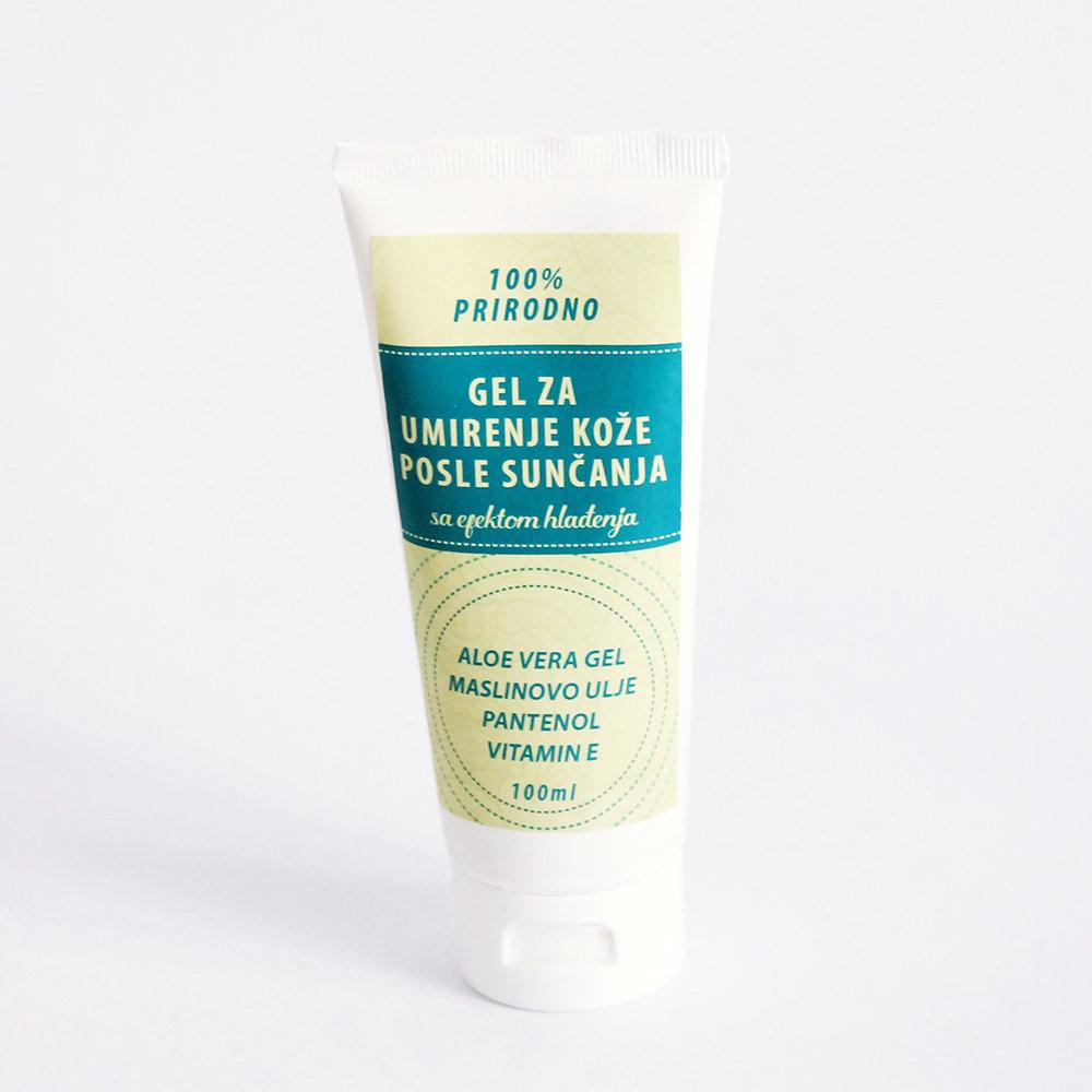 Herbateria - Gel za umirenje kože posle sunčanja, sa efektom hlađenja 100 ml / 200 ml