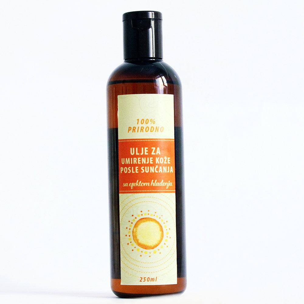 Herbateria - ulje za umirenje kože posle sunčanja 250 ml