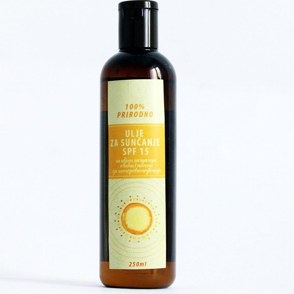 Herbateria - ulje za sunčanje SPF 15  250 ml 00429