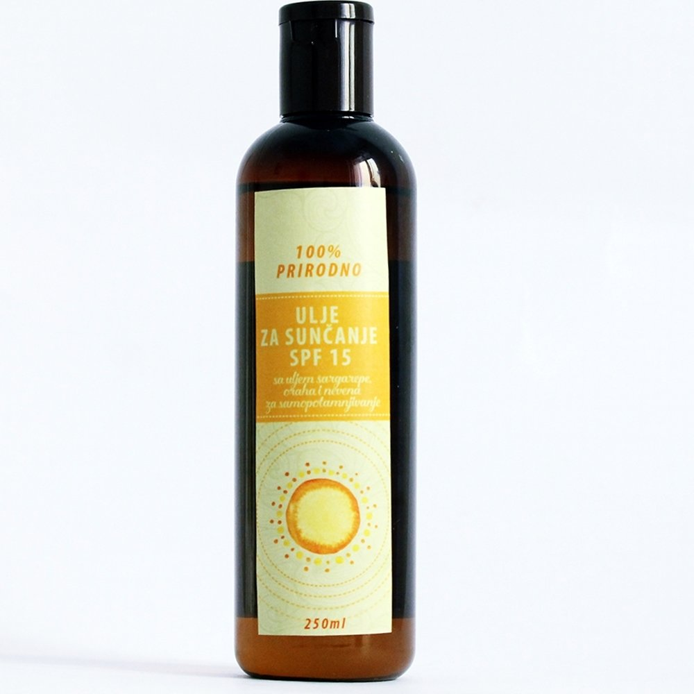Herbateria - ulje za sunčanje SPF 15  250 ml