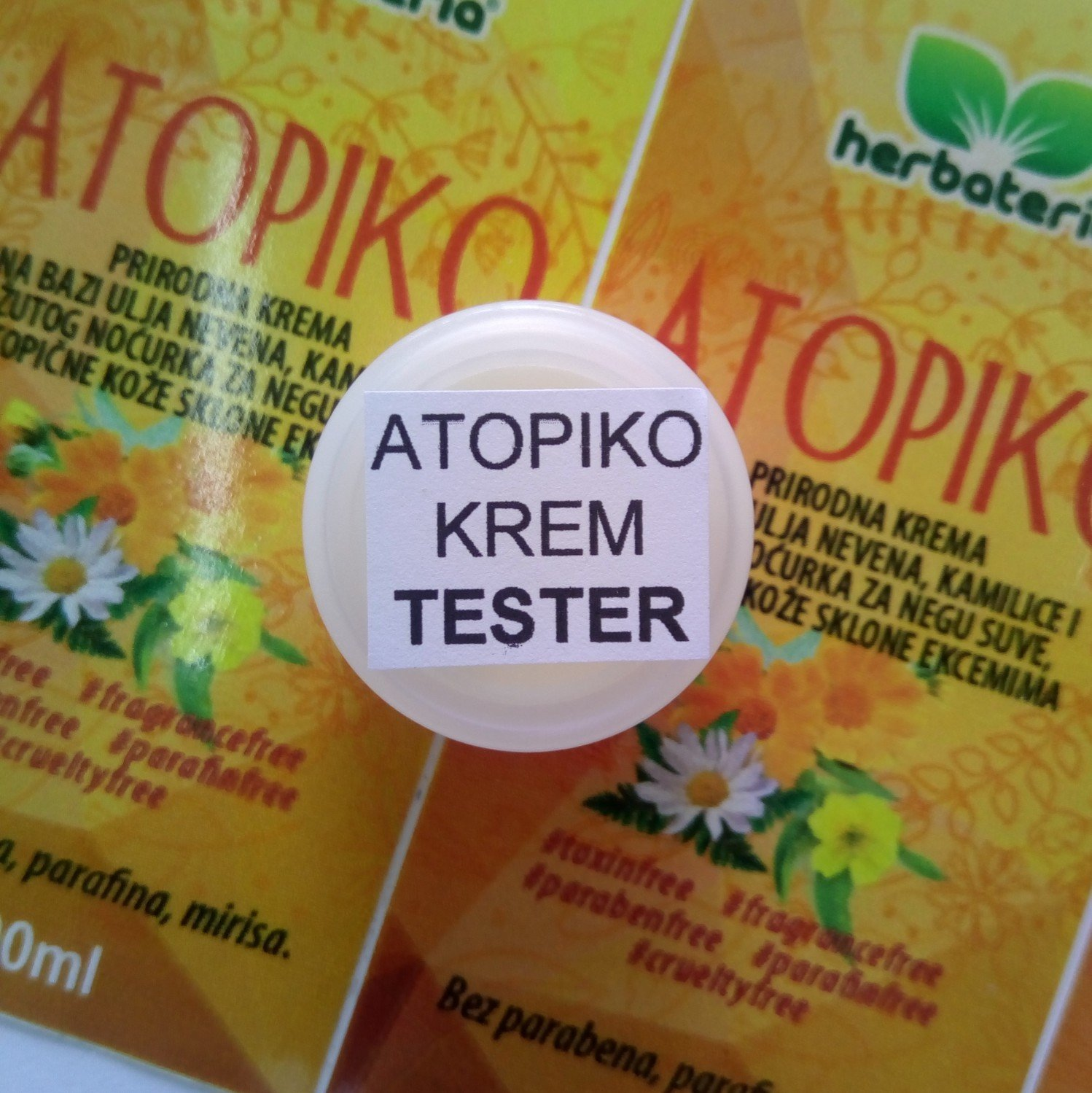 Herbateria - Tester atopiko krem 5 ml