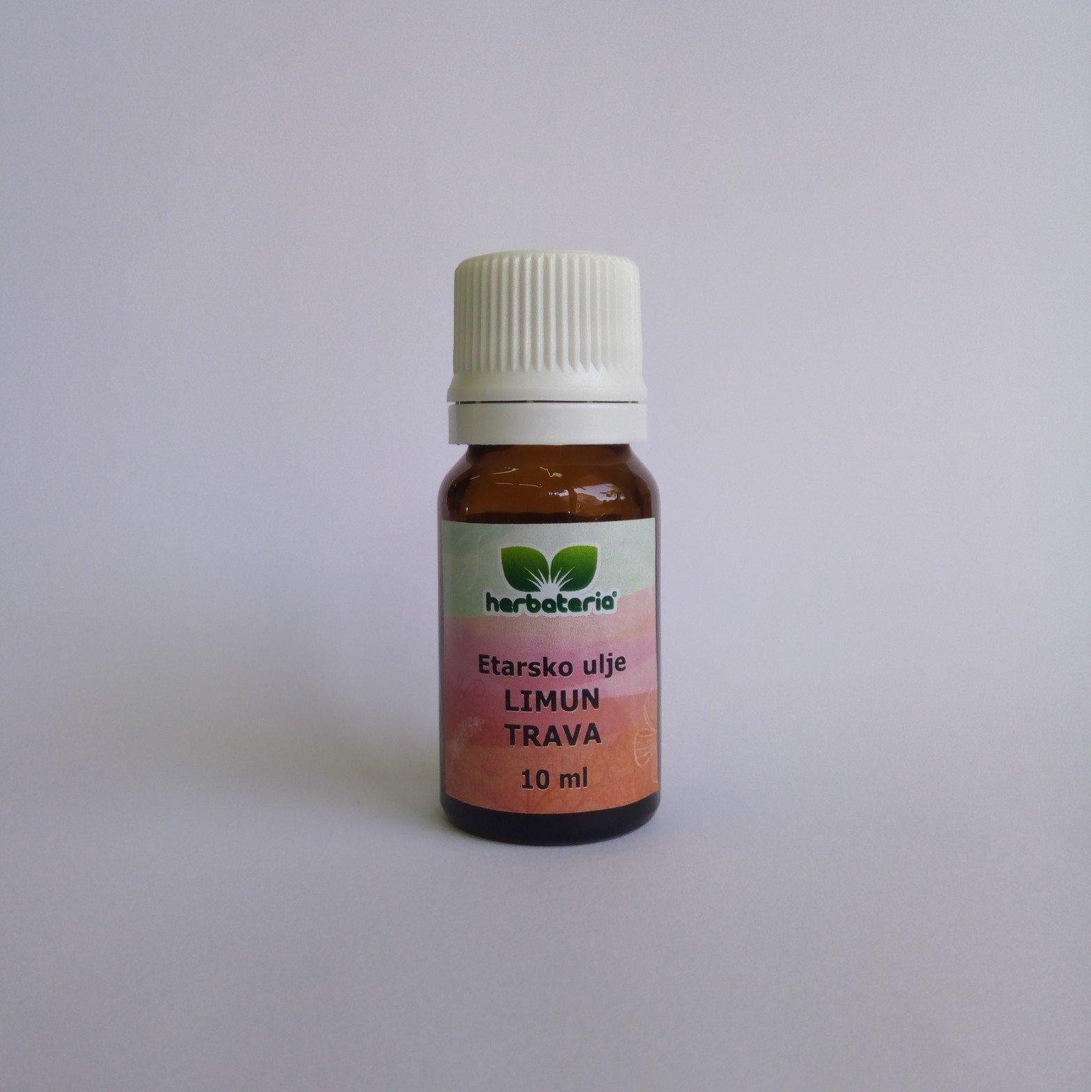 Herbateria - etarsko ulje limun trava 10 ml 00420