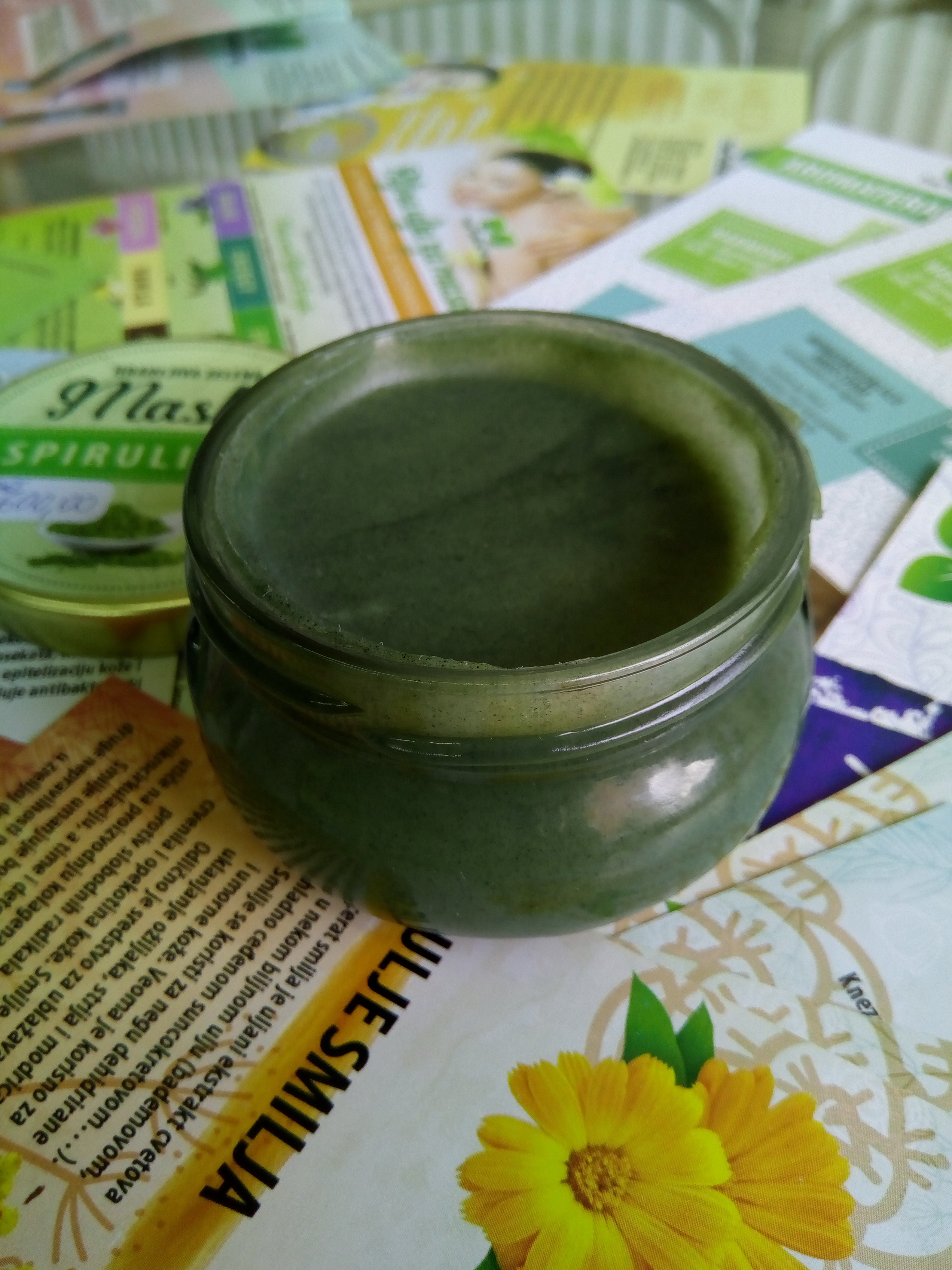 Herbateria- Hranljiva maska sa spirulinom 100 ml