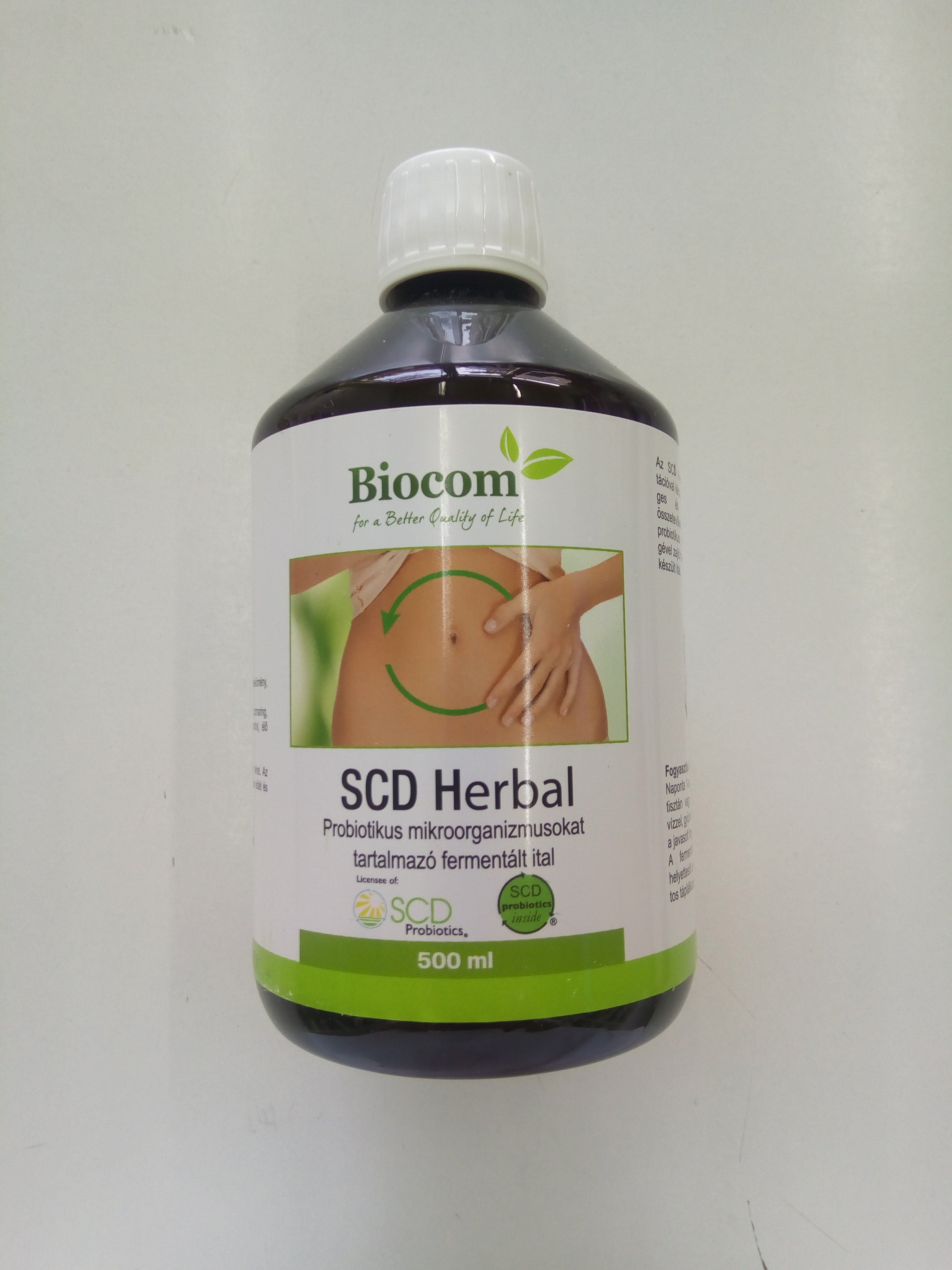 Biocom SCD Herbal (probiotski fermentisani napitak) 500 ml 00464
