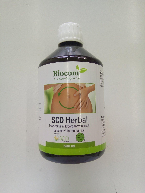 Biocom SCD Herbal (probiotski fermentisani napitak) 500 ml