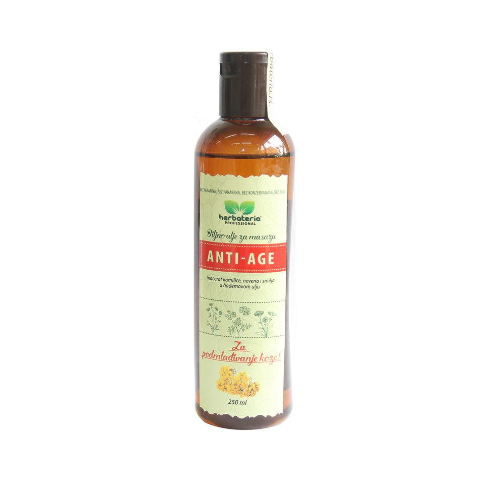 Herbateria - Anti - age biljno ulje za masažu 250 ml 00331