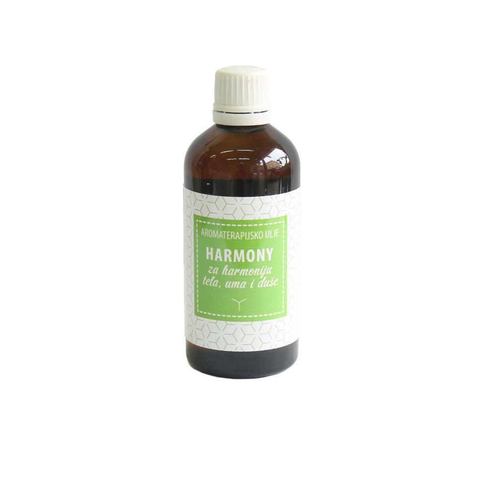 Herbateria - Aromaterapijsko masažno ulje Harmony - za harmoniju tela, uma i duše 100 ml 00348