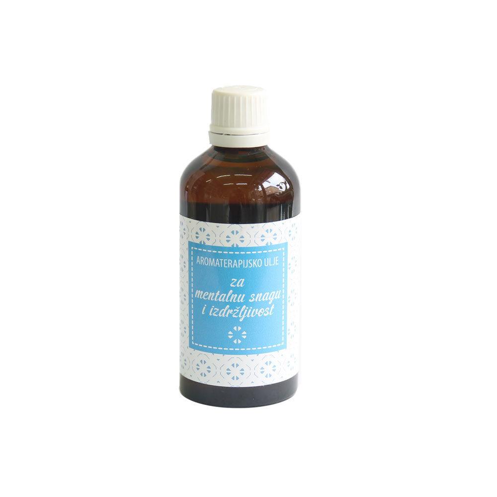 Herbateria - Aromaterapijsko masažno ulje za mentalnu snagu i izdržljivost 100 ml 00349