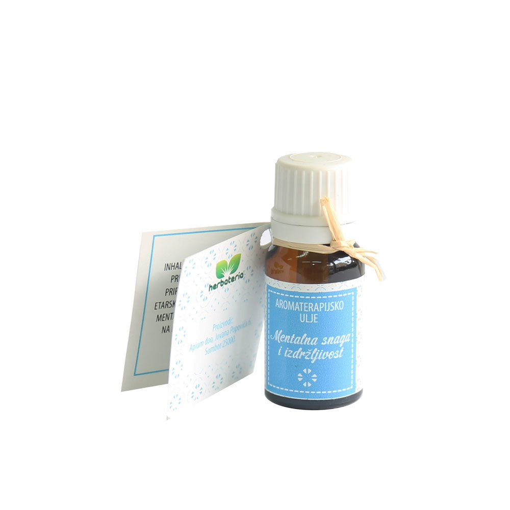 Herbateria - Aromaterapijsko ulje za inhalaciju za mentalnu snagu i izdržljivost 10 ml
