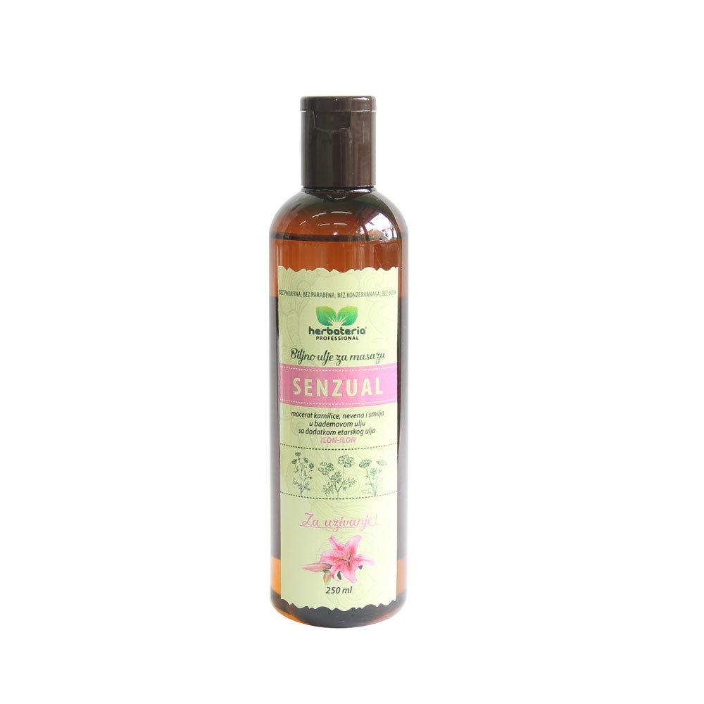 Herbateria - Biljno ulje za masažu (više vrsta) 250 ml 00330