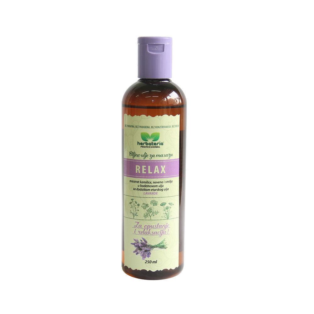 Herbateria - Biljno ulje za masažu (više vrsta) 250 ml