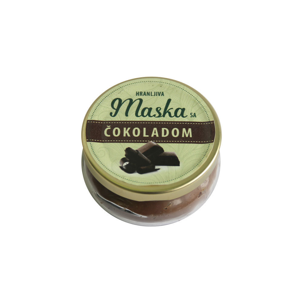 Herbateria - Hranljiva maska sa čokoladom 100 ml 00455