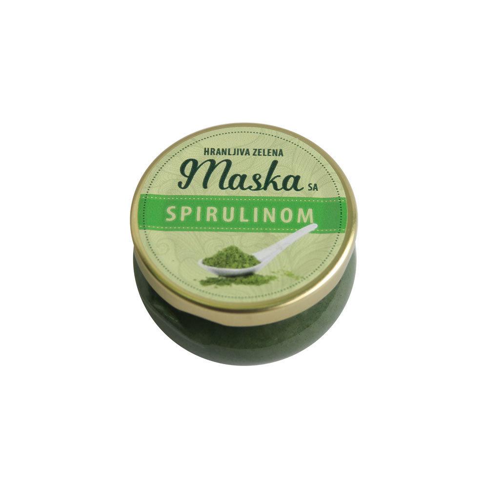 Herbateria- Hranljiva maska sa spirulinom 100 ml 00456