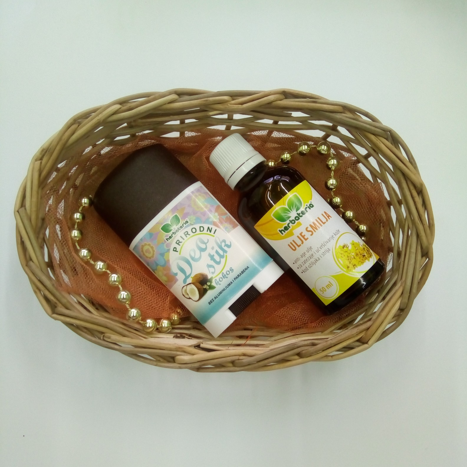 Poklon set (deo stik, ulje smilja 50 ml) 00471
