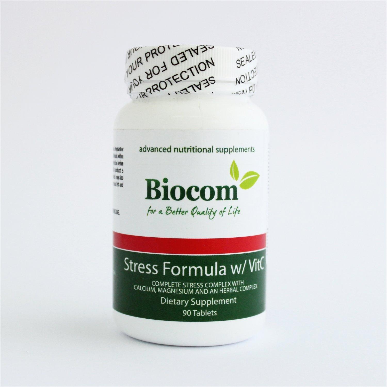 Biocom Stress formula sa vitaminom C, 90 tbl