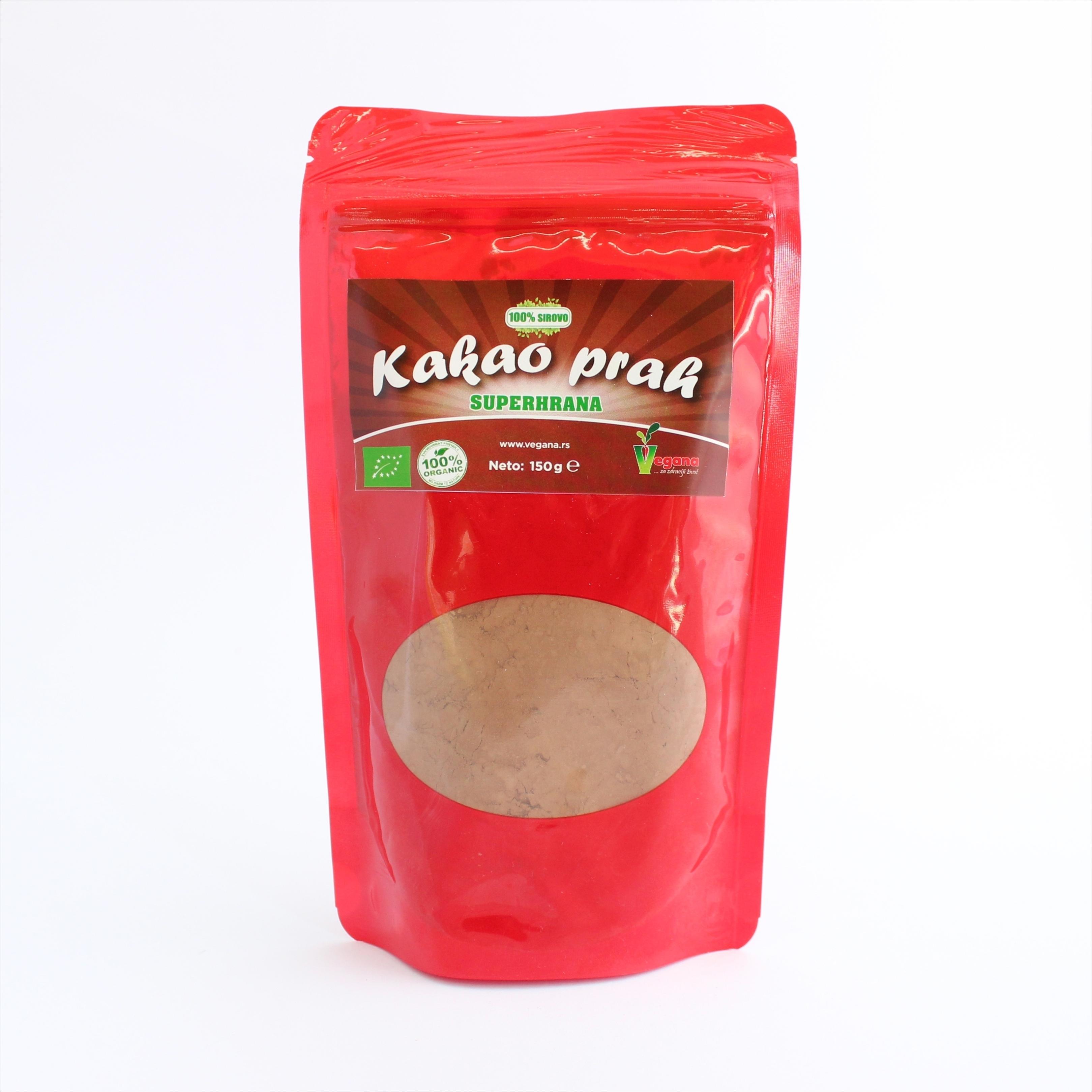 Vegana Kakao prah (sirovi, organski) - 150g 00257