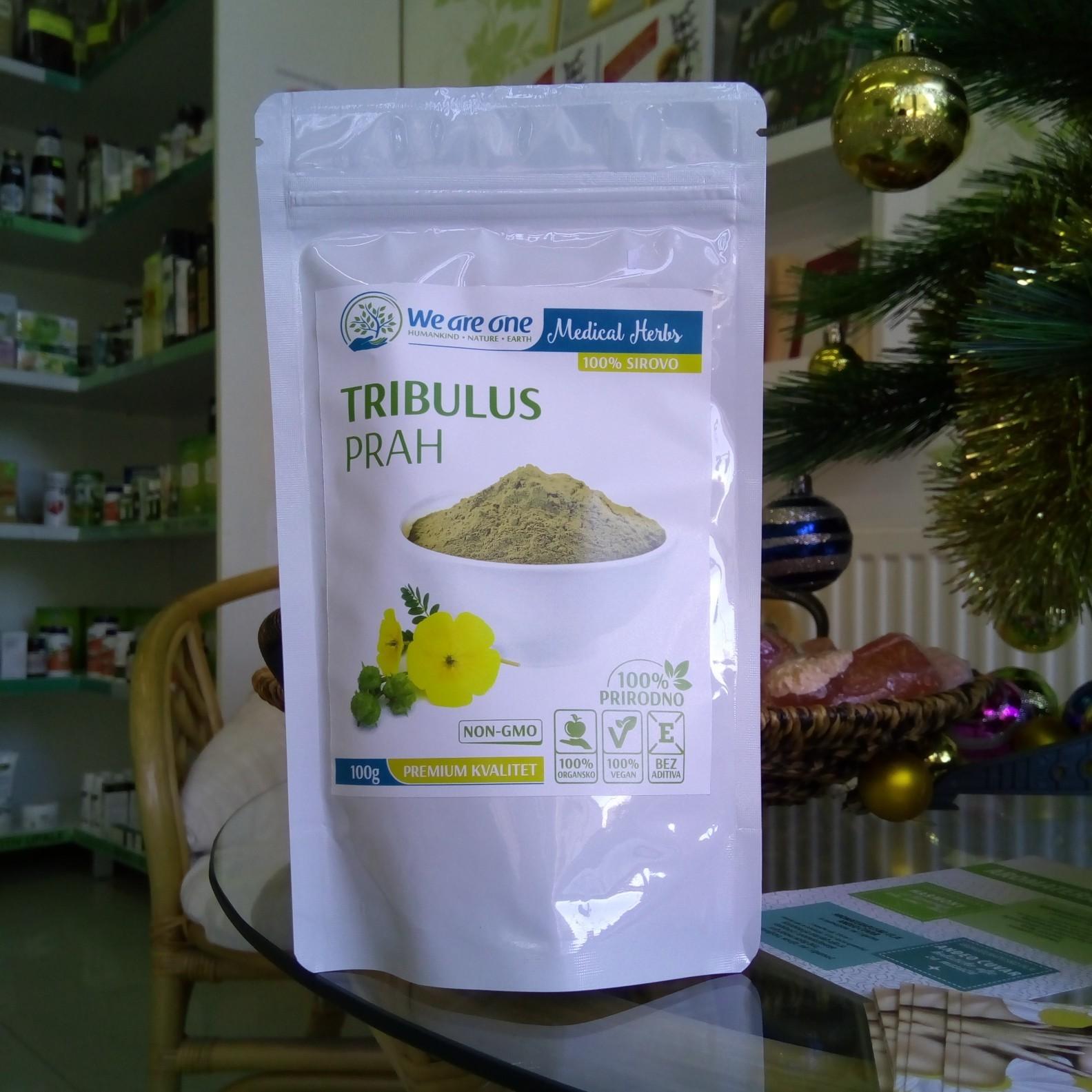 WAO Tribulus prah  (za plodnost i potenciju) 100 g 00389