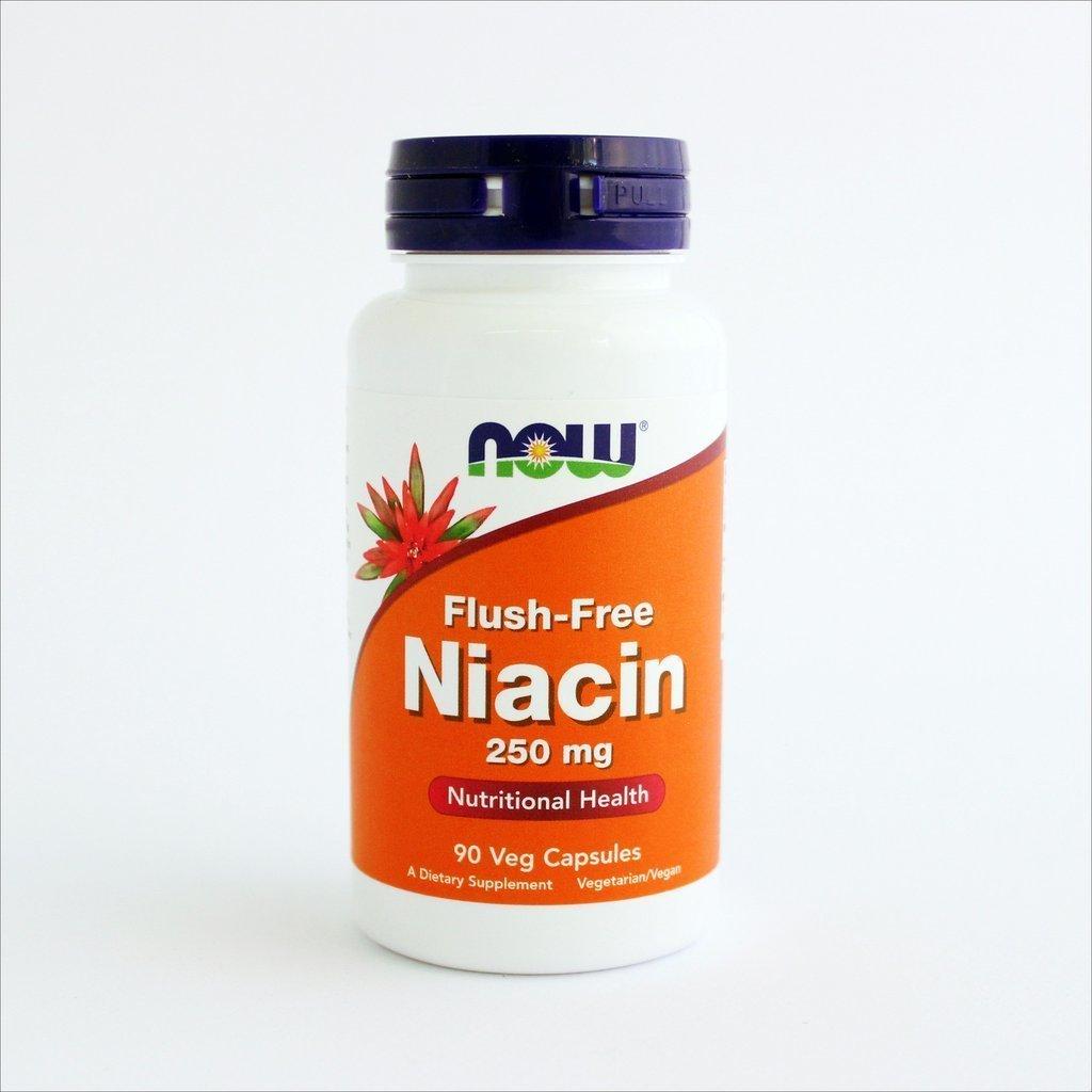 NOW Foods - Niacin bez crvenila 250mg (90 kapsula) 00176