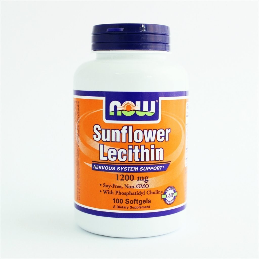NOW Foods - Suncokretov lecitin 1200 mg (100 kapsula)