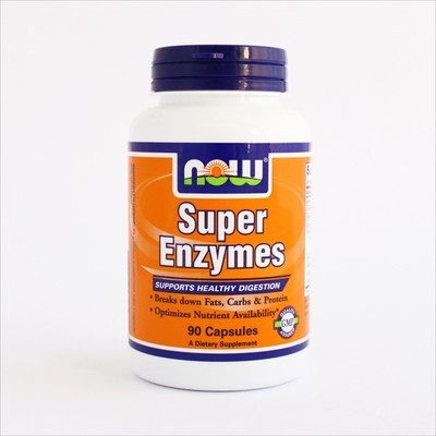 Now Super enzymes (kompleks enzima za varenje) 90 kapsula