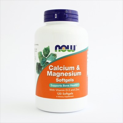 NOW Foods - Kalcijum i magnezijum (120 softgel kapsula)