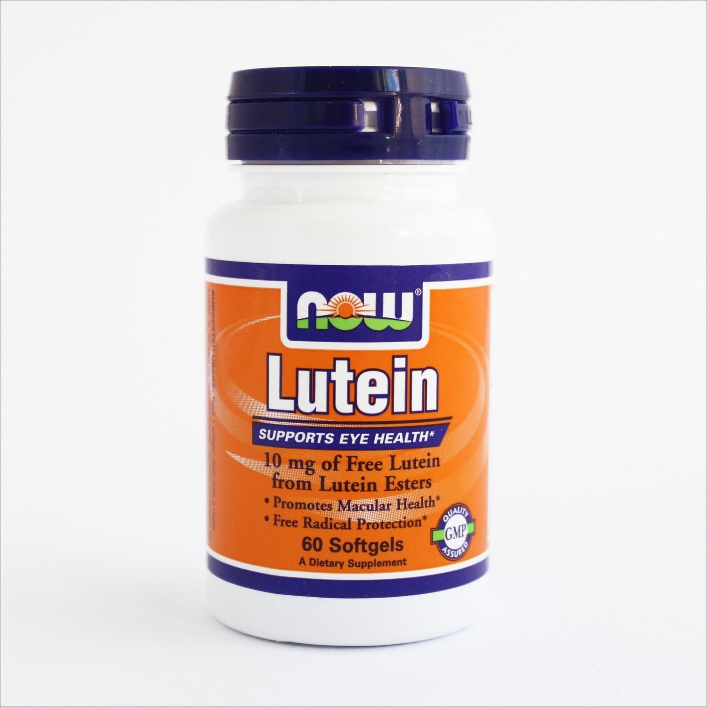 Now Lutein 10 mg  60 kapsula