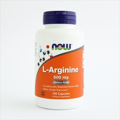 Now L-arginin 500 mg -100 kapsula