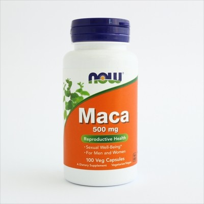 Now Maca 500 mg 100 kps