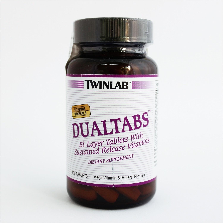 Twinlab Dualtabs-vitamini i minerali (100 tableta)