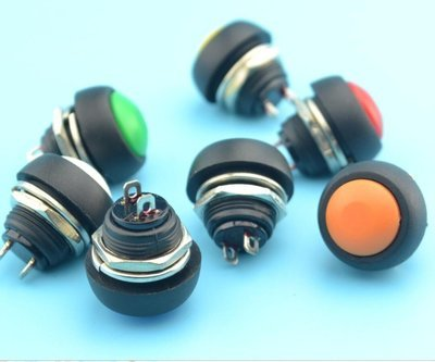 Momentary Push Button Switch 12mm