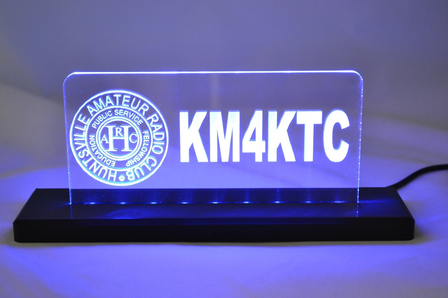 HARC LED Desktop Sign
