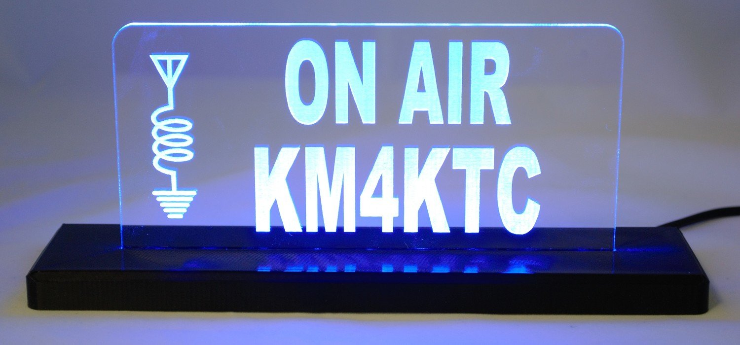 ON AIR LED Desktop Sign