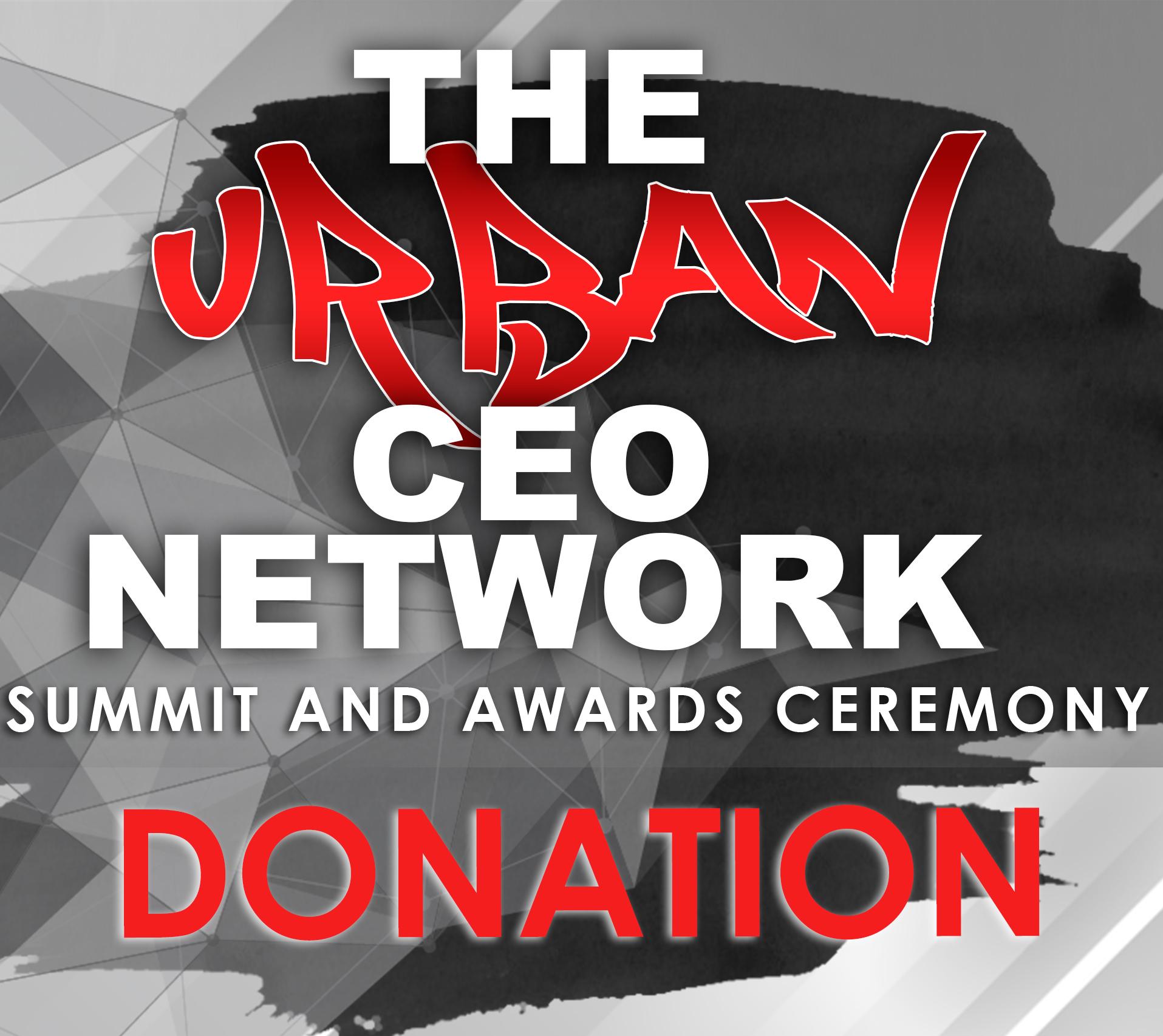 Urban CEO Summit Donation 00010