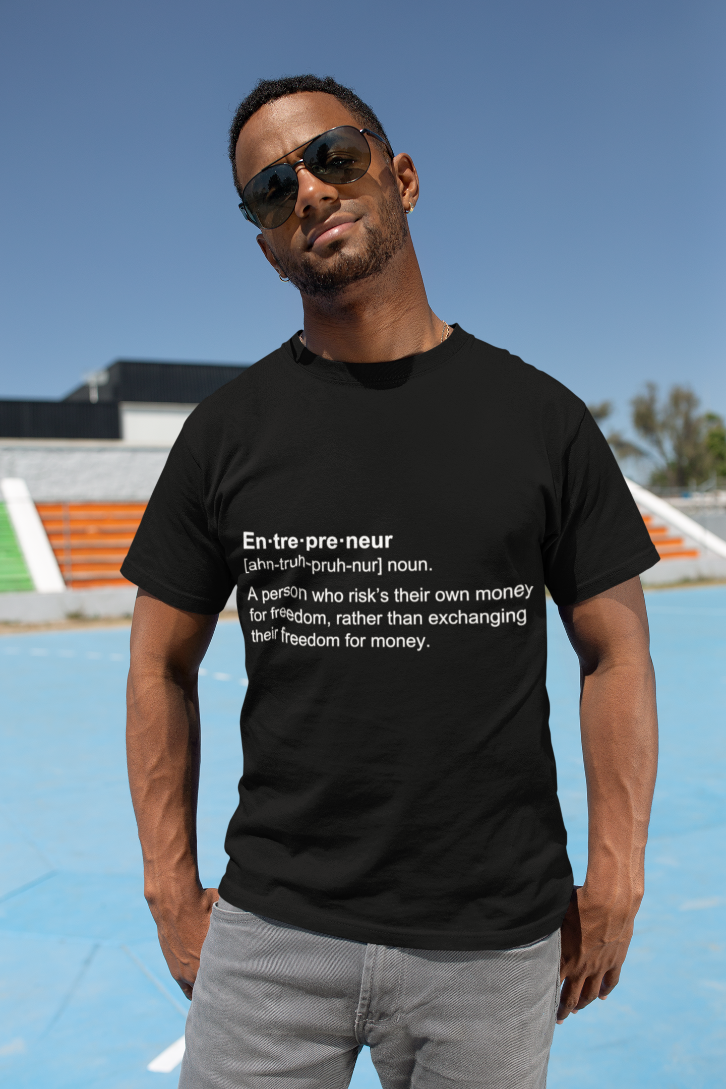 Entrepreneur Definition Tshirt