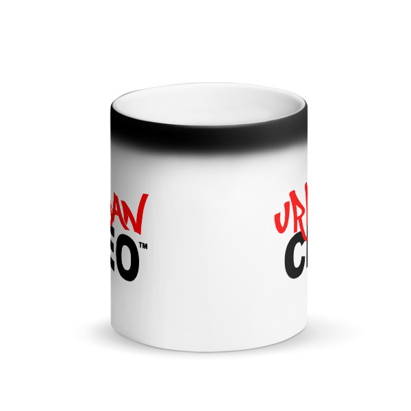 Matte Black Magic Mug 00012