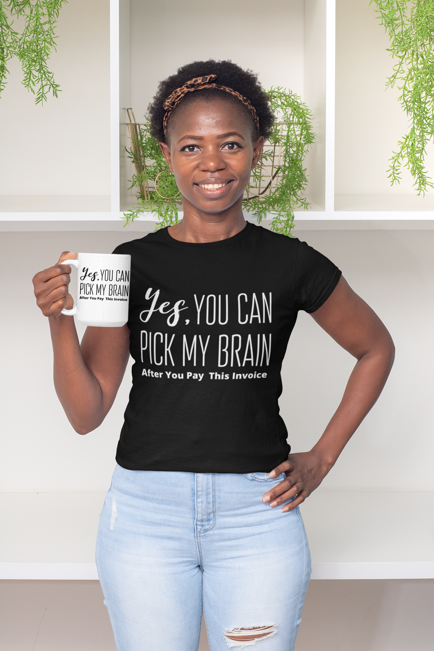 Yes You Can Pick My Brain After You Pay This Invoice Shirt 00020