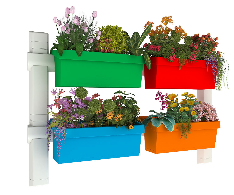 סט הרכבה (ללא אדניות) בסיסי - Basic Construction Set (without Planters)