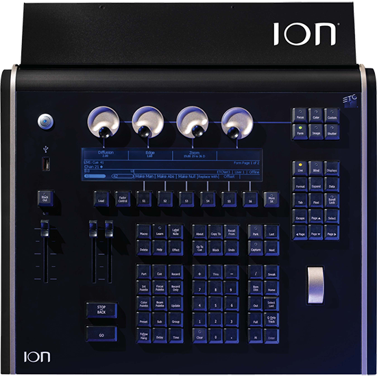 ETC - ION Lighting Control desk